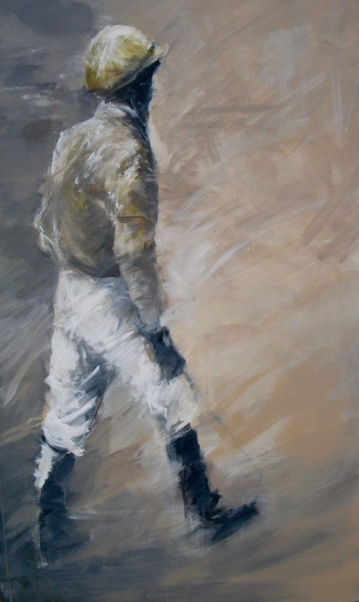 """Jockey Silks - Large 2"" by David 'Mouse' Cooper."